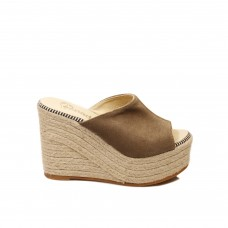 ESPADRİLLES WOMEN FLASH VELOUR LAVAGNA HERMOSA